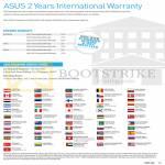 Notebooks Two Years International Warranty