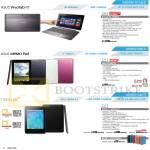 Notebooks VivoTab RT TF600TG, Memo Pad ME172V, NEXUS 7, NEXUS 7C