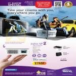 BenQ Projector Joybee GP2 HDMI Mini Projector
