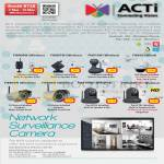 IP Surveillance Camera ACTi FI8909W FI8907W FI8916W FI8620 FI8904W FI8905W FI8910WE FI982XW HD
