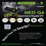Minix Neo G4 Android Pocket PC Features