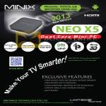 Minix Neo X5 Android Mini PC Features