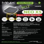 Minix Neo X5 Android Mini PC Specifications