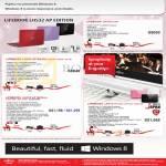 Fujitsu Notebooks Lifebook LH532 B3W8, LH532 AP Edition DB5W DR5W DL5W, AP Edition EDR7QW EDL7QW EDB7QW8, LH772 DB7QW DP7QW DW7QW