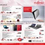 Fujitsu Notebooks Lifebook UH572 S7W R7W, U772 R7W8P S7W8P, SH57W B5W R5W W5W, SH782 B7W8P