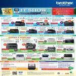 Printers Inkjet LED MFC-J625DW, J2510, J6710DW, J430W, J825DW, J6510DW, 7860DW, 7360, 9320CW, Laser DCP-J140W, 7060D, HL-2270DW, 2130, 3070CW, 2240D, FAX-2840, Scanner ADS-2100