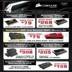 Corsair DDR3 Memory RAM Vengeance, Dominator Platinum