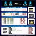 Lexar SD Cards, MicroSD