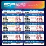 SP Silicon Power MicroSD, SDHC