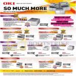 OKI Printers LED C301dn, MB461, MC362dn, C610n, C810n, C831n, MB491dn, MC562dn