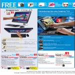 AIO Desktop PCs, Notebooks, Inspiron One 23, Inspiron 14