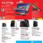 Desktop PCs, XPS One 27, Inspiron 660s, XPS 8500, Alienware Aurora R4, Alienware X51