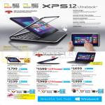 Ultrabook Notebooks XPS 12, XPS 13, XPS 14