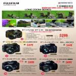 Digital Cameras Finepix S2995, S4200, SL300, SL1000, HS35EXR