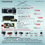 Digital Cameras X Series X100s, X20, XF1, Purchase With Purchase Leather Case, Flash, Hand Grip