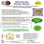 Electricity Power Saver Mini Sun Saver