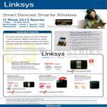 Networking Wireless Routers EA6500, EA4500, EA3500, EA2700