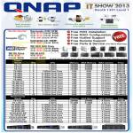 Qnap NAS, TS Tower, Rackmounts, Seagate, Western Digital