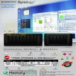 Memory World Synology NAS DiskStation DS1512 Plus, DS1812 Plus, DX513