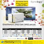 Memory World Synology NAS DiskStation DS213air, DS212j, DS213, DS213air, DS213Plus, DS713Plus