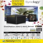 Memory World Synology NAS DiskStation DS413j, DS413, DS412Plus, DS411 Slim
