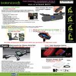 Boia Balanzza Mini BZ400 Digital Luggage Scale, Ergo BZ200, Mini Sport BZ400S, Tigra BikeConsole, Train Reaction Device, Screeen Keeper SK-03