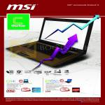 MSI Notebooks C Series Notebooks CR41, CR650