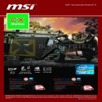 MSI Notebooks CX Series Notebooks CX411AC, CX61 0NF