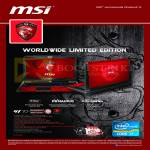 MSI Notebooks Gaming G Series Notebook GT70 Dragon Edition