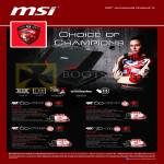 MSI Notebooks Gaming G Series Notebooks GE60-0ND437, GE60-0NC436, GE70-0ND, GE60-0ND438