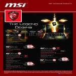 MSI Notebooks Gaming G Series Notebooks GT60-0NC, GT60-0ND, GT70-0ND, GT60-0NE, GT70-0NE