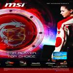 MSI Notebooks MSI Top Player, Top Choice
