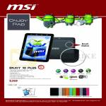 MSI Tablet Enjoy Pad Enjoy 10 Plus