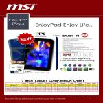 MSI Tablet Enjoy Pad Enjoy 71