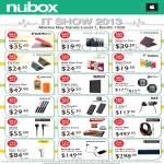 Nubox Accessories Case, T-Jays 3 Earphone, Ultimate Ears UE350, Jawbone Jambox, Plantronics, Jabra, Klipsch Mode M40