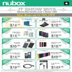 Nubox Accessories IPearl, Power Support, Uniq, Kajsa, Gosh, Griffin, Klipsch, Mipow PowerTube 4000