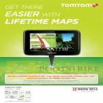 TomTom GPS Free Lifetime South East Asia Map Update, Carry Case