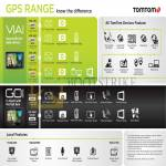 TomTom GPS Navigation Systems VIA 220 260 280 620, GO 2050 World, Features