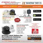 Foscam Survelliance Cameras FI8910W, FI8909W, FI9821W