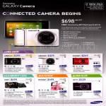 Digital Cameras Galaxy Camera, WB850F, WB150F, ST200F, EX2F, MV900F, ST77