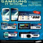 Mobile Phones Galaxy Note II LTE, Galaxy S III LTE, Galaxy Note 10.1 LTE, Galaxy S III Mini, Galaxy Camera
