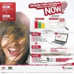 Singtel Broadband Mobile 21Mbps, 75Mbps, Fibre 200Mbps ADSL 15Mbps Free Acer Aspire V5 Touch 15.6 Notebook, 150Mbps, 300Mbps