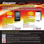Energizer Energi To Go Portable Charger Xpal Blue Shark Battery Case, Hybrid