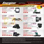 Energizer Portable Charger AP750MC, XP1000, GP2100, AP1201, XP2000A, XP4003, XP8000, XP18000