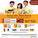 360 Multi Device, Norton Internet Security, Norton AntiVirus, Norton Mobile Security