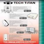 Kaspersky Tech Titan Portable Chargers, Power Bank