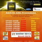 Corbell AData SSD SP900, SX900
