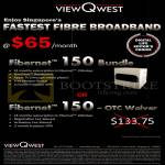 Viewqwest Fibre Broadband Fibernet 150 150Mbps