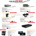 Inavi Clair II Car Black Box, Two Channel FXD700, Caidrox Two Channel CD-5000, CD-3000, Omniknie DVR, ZMC168, ZMC188