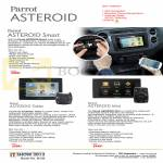 Parrot Asteroid Smart, Asteroid Tablet, Asteroid Mini, GPS Navigator